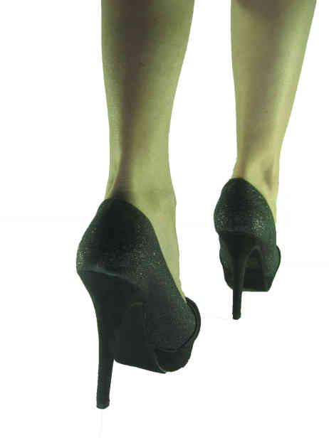 scarpe donna glitter