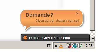 assistenza chat