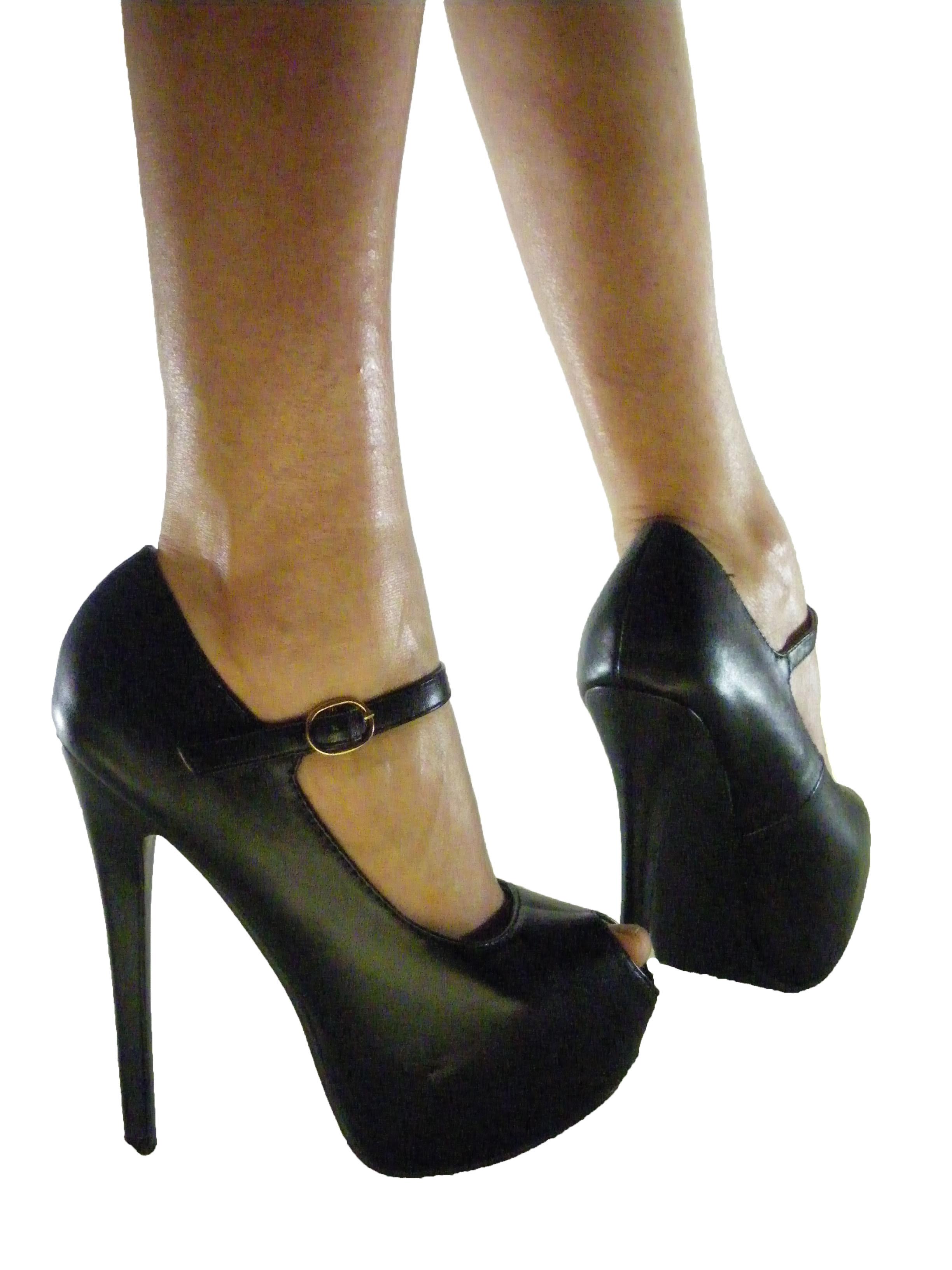 scarpe online decollete spuntate cinturino
