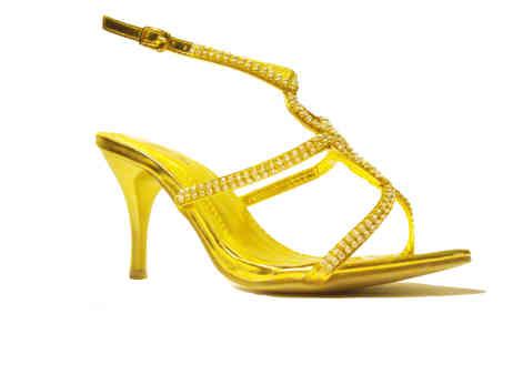 sandali gioiello sposa oro