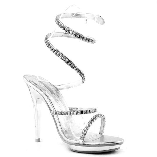 sandali schiava silver