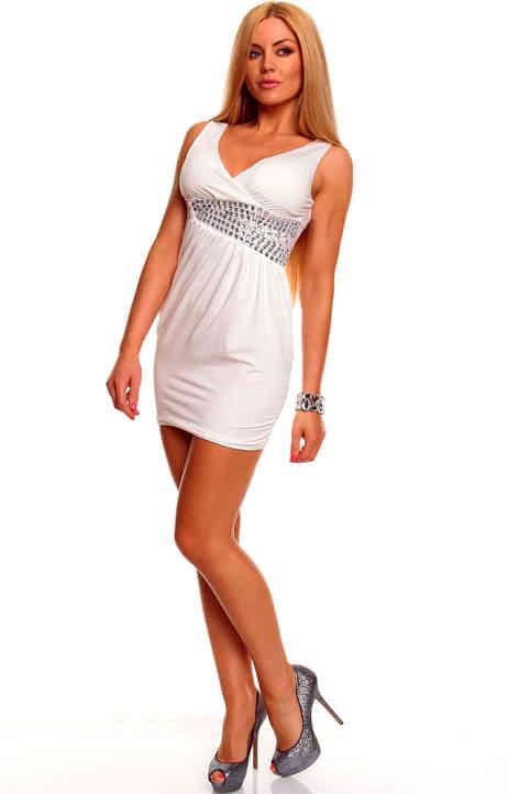 mini abito bianco strass rolita (5)