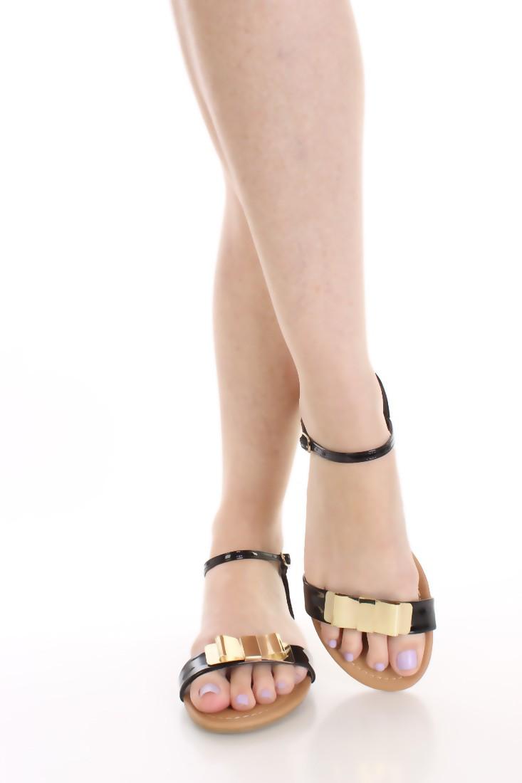 sandali flat bow