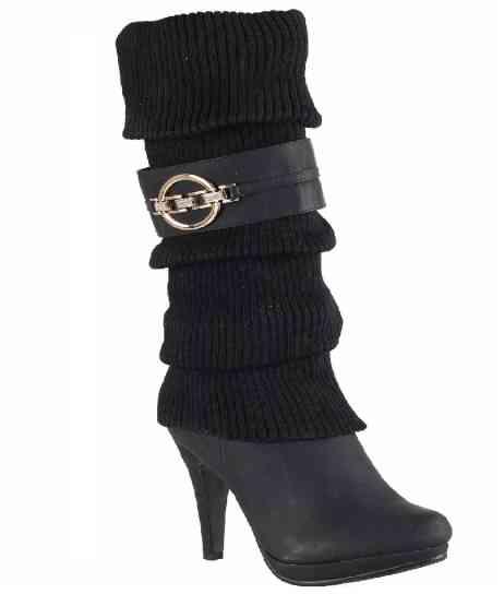 stivali donna strass tacchi