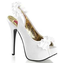 sandali bianco sposa teeze 56 pleaser