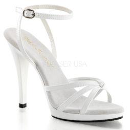 sandali sposa vernice bianco