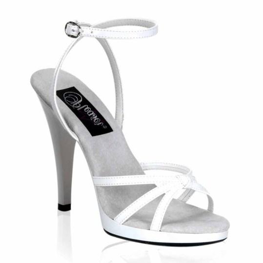 sandali sposa fasce bianco flair-436