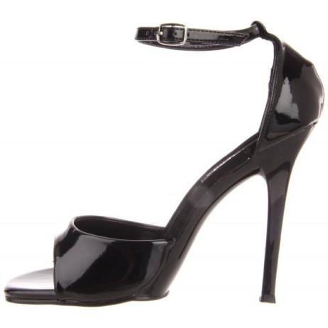 sandali elegnati sera vernice nero lucidi gala-36 pleaser (1)