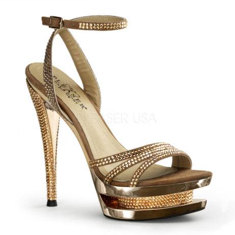 sandali lusso strass oro fascinate-637dm-gs