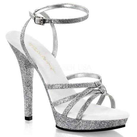 sandali glitter argento lip-128-sg
