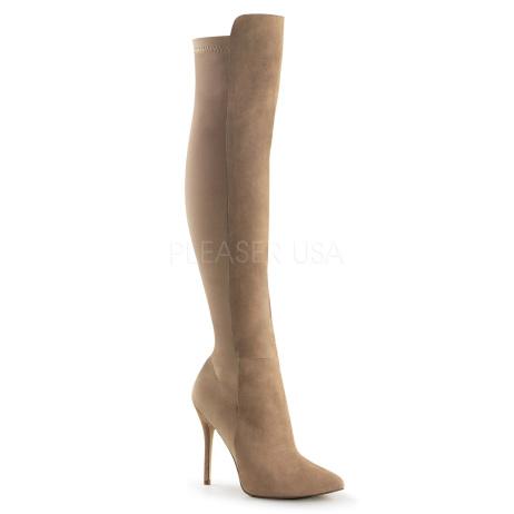 scarpe donna sandali stivali decolte tacchi plateau eleganti AMUSE-2018