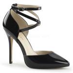 scarpe donna sandali stivali decolte tacchi plateau eleganti AMUSE-25