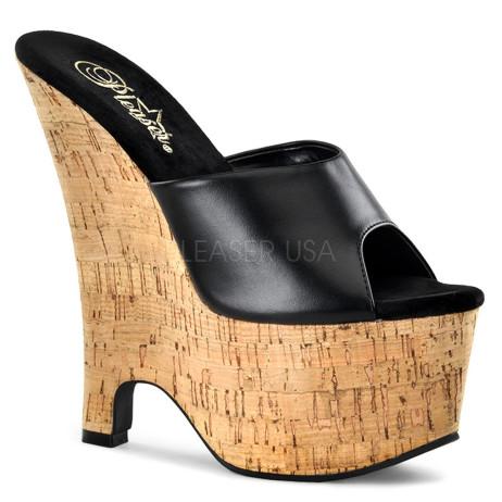 scarpe donna sandali stivali decolte tacchi plateau eleganti BEAU-601
