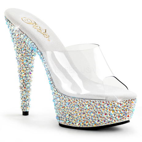 scarpe donna sandali stivali decolte tacchi plateau eleganti BEJEWELED-601MS