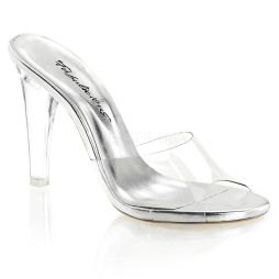 scarpe donna sandali stivali decolte tacchi plateau eleganti CLEARLY-401