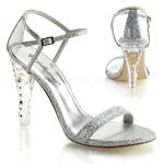 scarpe donna sandali stivali decolte tacchi plateau eleganti CLEARLY-425