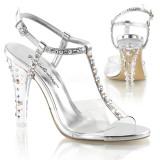 scarpe donna sandali stivali decolte tacchi plateau eleganti CLEARLY-426