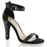 scarpe donna sandali stivali decolte tacchi plateau eleganti CLEARLY-436