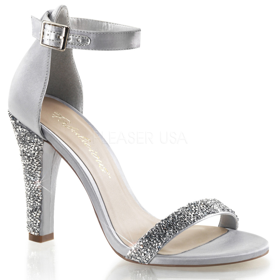 Caprice Shoes Silver Heel