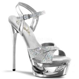 scarpe donna sandali stivali decolte tacchi plateau eleganti ECLIPSE-619G