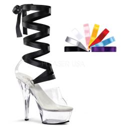 scarpe donna sandali stivali decolte tacchi plateau eleganti KISS-295