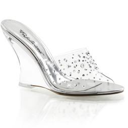 scarpe donna sandali stivali decolte tacchi plateau eleganti LOVELY-401RS