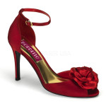 scarpe donna sandali stivali decolte tacchi plateau eleganti ROSA-02