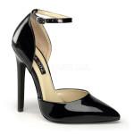 sandali tacchi alti vernice nero lucida sexy-21 blk 002