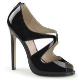 scarpe donna sandali stivali decolte tacchi plateau eleganti SEXY-12