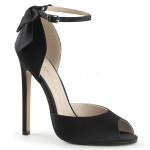 sandali eleganti raso tacco 13