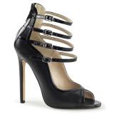 scarpe donna sandali stivali decolte tacchi plateau eleganti SEXY-17