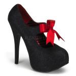 scarpe donna sandali stivali decolte tacchi plateau eleganti TEEZE-04G