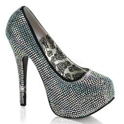scarpe donna sandali stivali decolte tacchi plateau eleganti TEEZE-06R