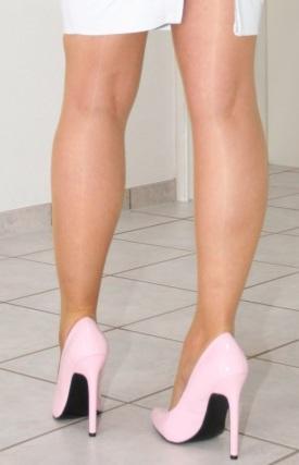 decoltè eleganti rosa