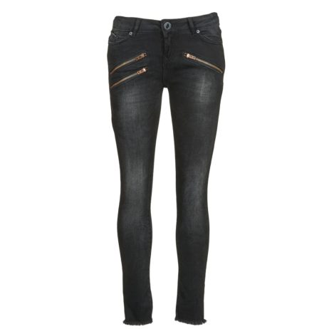 Jeans Slim donna Volcom  ROCK OUT  nero
