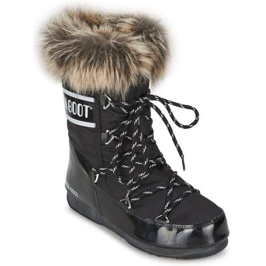 Scarpe da neve donna Moon Boot  MOON BOOT W.E. MONACO LOW  nero
