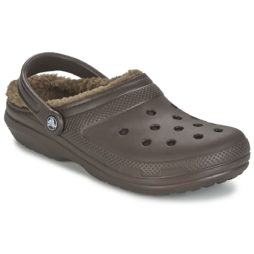 Scarpe donna Crocs  CLASSIC LINED CLOG  marrone