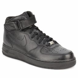 Scarpe uomini Nike  AIR FORCE 1 MID 07 LEATHER  nero