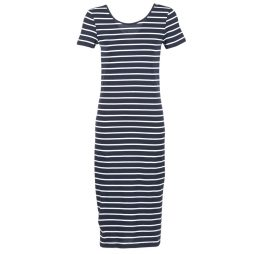 Abito Lunghi donna Only  ABBIE STRIPE  Blu Only 5713021460269