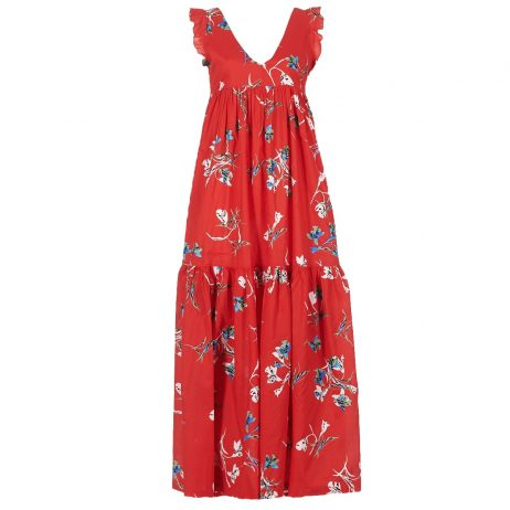 Abito Lunghi donna Pepe jeans  MANUELAS  Rosso Pepe jeans 8434538329203