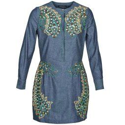 Abito corto donna Antik Batik  ALICE  Blu Antik Batik 3661320503601