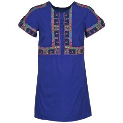Abito corto donna Antik Batik  EMILIE  Blu Antik Batik 3661320496149