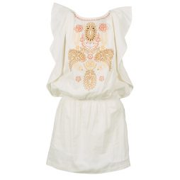 Abito corto donna Antik Batik  JANIE  Bianco Antik Batik 3661320625884