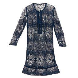 Abito corto donna Antik Batik  LEANE  Blu Antik Batik 3661320582989