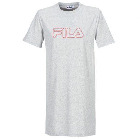 Abito corto donna Fila  LUNA 2.0 LONG TEE DRESS  Grigio Fila 4044185565981