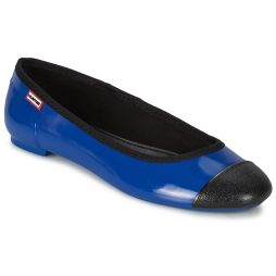 Ballerine donna Hunter  ORIGINAL BALLET FLAT  Blu Hunter 5013441332635