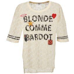 Camicetta donna Brigitte Bardot  AMBROISE  Beige Brigitte Bardot 3554803755218
