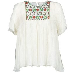 Camicetta donna Manoush  POINT DE CROIX  Bianco Manoush 3700374311333