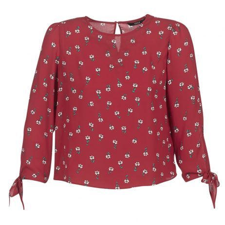 Camicetta donna Only  FLORI  Rosso Only 5713733984831