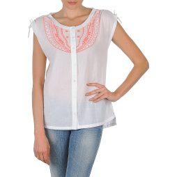 Camicia a maniche corte donna Antik Batik  AYLA  Bianco Antik Batik 3661320373105